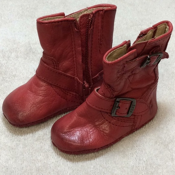 frye Shoes | Boots Infant Youth 1 Red